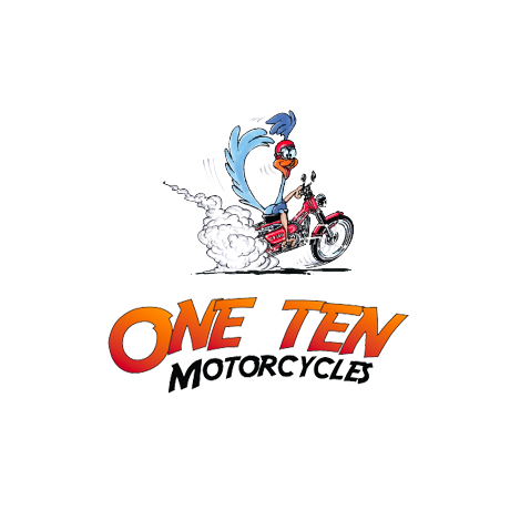 One Ten Motorcycles Round Logo
